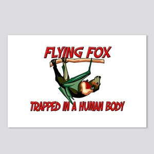 Flying Fox trapped in a human body Postcards (Pack