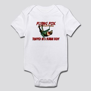 Flying Fox trapped in a human body Infant Bodysuit