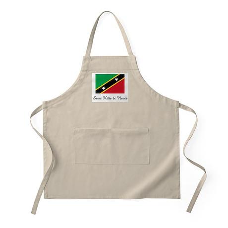 Saint Kitts & Nevis Flag BBQ Apron