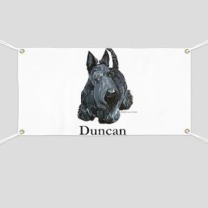 """Scottish Terrier """"Duncan"""" Banner"""