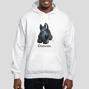 """Scottish Terrier """"Duncan"""" Hooded Sweatshirt"""
