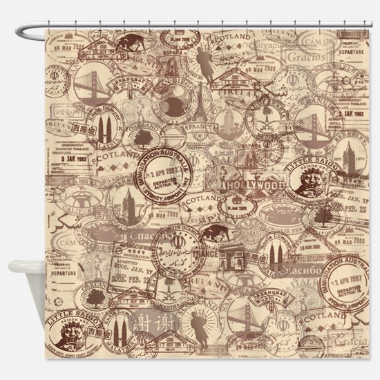 Cute Be safe Shower Curtain