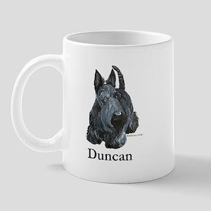 """Scottish Terrier """"Duncan"""" Mug"""