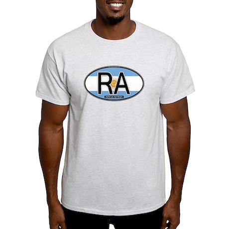 Argentina Oval Colors Light T-Shirt