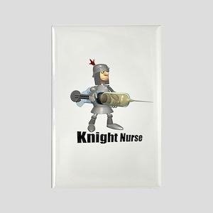 Knight Nurse! Rectangle Magnet