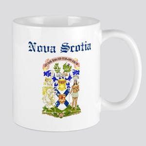 Nova Scotia Canada flag design Mugs