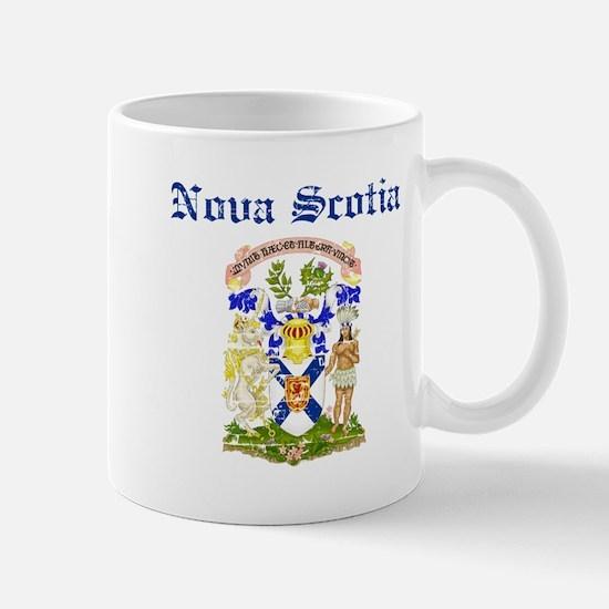 Nova Scotia Canada flag design Mugs