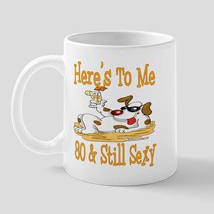 Cheers on 80th Mug