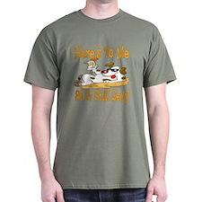 Cheers on 80th Dark T-Shirt