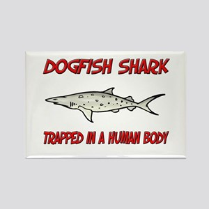 Dogfish Shark trapped in a human body Rectangle Ma