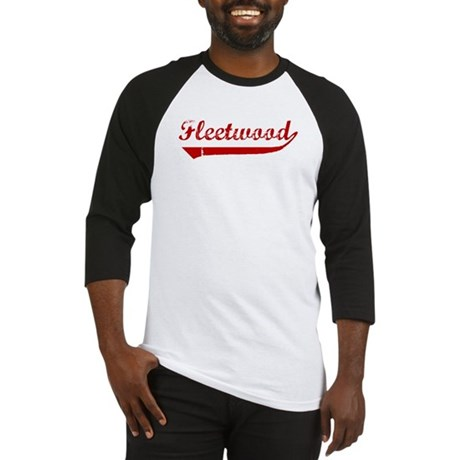Fleetwood (red vintage) Baseball Jersey