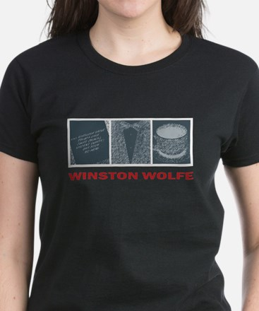 Winston Wolfe Women's Dark T-Shirt