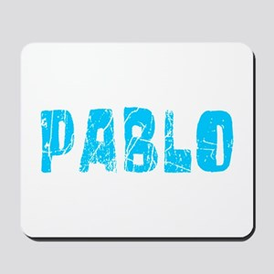 Pablo Faded (Blue) Mousepad