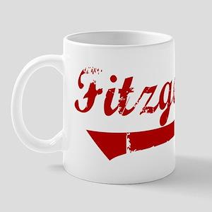 Fitzgerald (red vintage) Mug