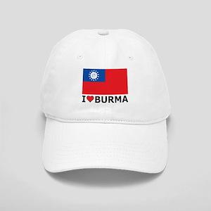 I Love Burma Cap