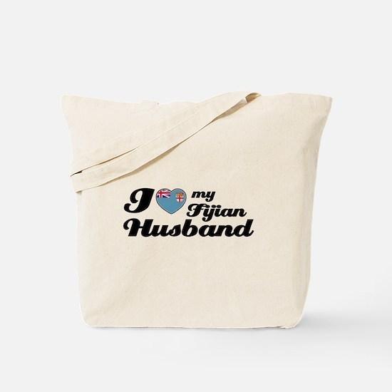 I love my Fijian Husband Tote Bag