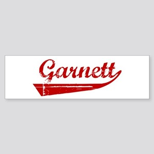 Garnett (red vintage) Bumper Sticker