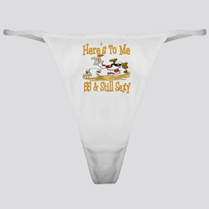 Cheers on 55th Classic Thong