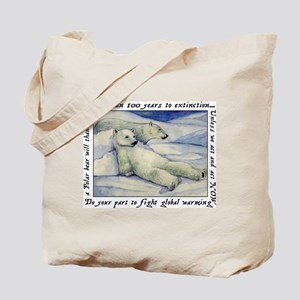 Polar Bears (100 Years...) Tote Bag