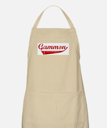 Gammon (red vintage) BBQ Apron