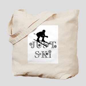 JUST SKI Tote Bag