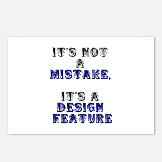 Mistake Design #1 Postcards (Package of 8)