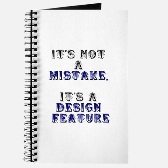 Mistake Design #1 Journal