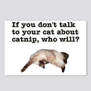 Talk to Your Cat Postcards (Package of 8)
