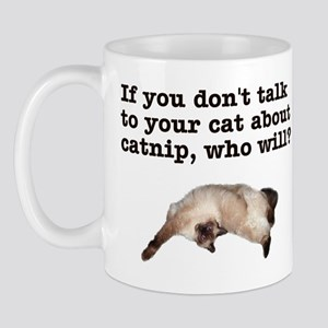 Talk to Your Cat Mug