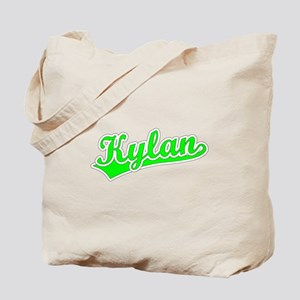 Retro Kylan (Green) Tote Bag