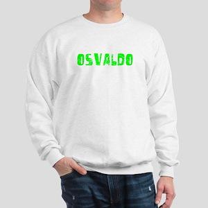 Osvaldo Faded (Green) Sweatshirt