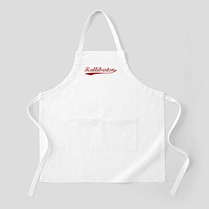 Halliburton (red vintage) BBQ Apron