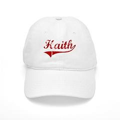 Haith (red vintage) Baseball Cap