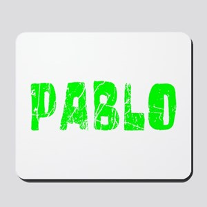 Pablo Faded (Green) Mousepad