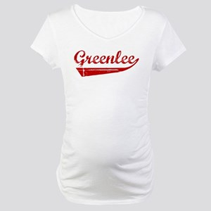 Greenlee (red vintage) Maternity T-Shirt