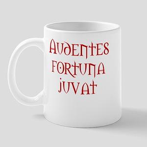 Fortune favors the bold Mug