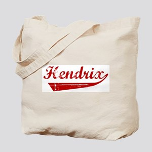 Hendrix (red vintage) Tote Bag
