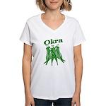 OIKRA Women's V-Neck T-Shirt