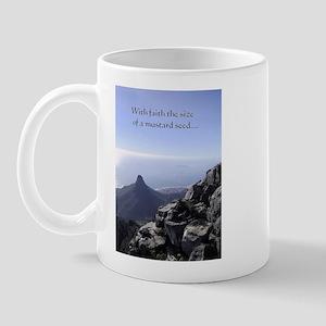 Mustard seed mountain Mug