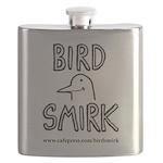 Bird Smirk Flask
