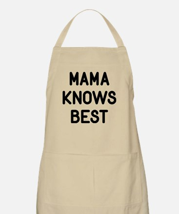 Mama Knows Best Light Apron