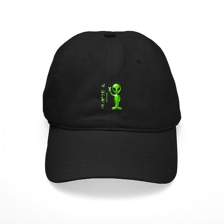 Alien Peace Dudes 9 Black Cap
