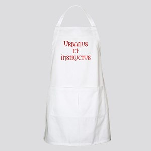 A gentleman and a scholar BBQ Apron