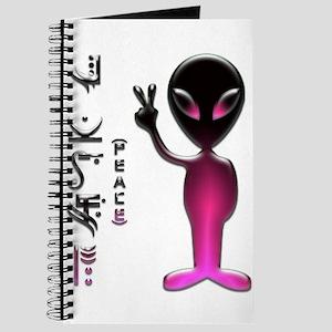 Alien Peace Dudes 16 Journal