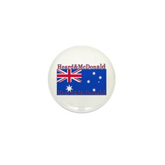 Heard & McDonald Flag Mini Button (10 pack)