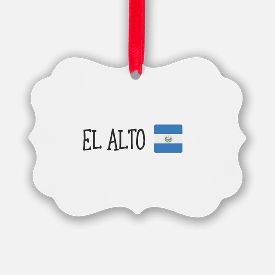 El Alto Ornament