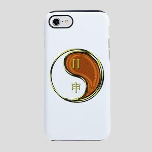 Gemini & Wood Monkey iPhone 8/7 Tough Case
