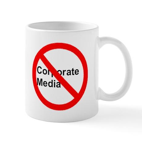 No Corporate Media Mug