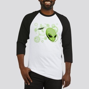 A.L.I.E.N. Language Lime Baseball Jersey