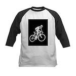 Bicycle Racing Abstract Silhouette Print Baseball